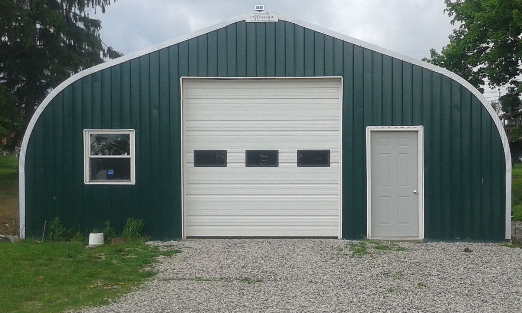 Protect your vehicles with a steel building garage!