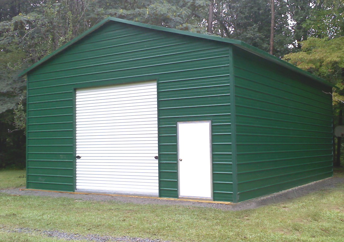 Tony's Steel Building Garage